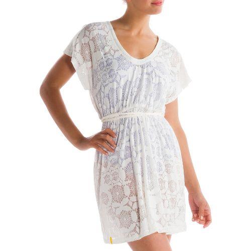 Womens Lole Rumba 2 Dress Fitness Skirts - Vanilla M