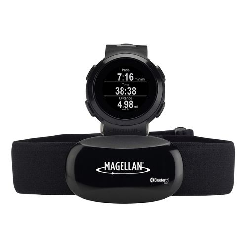 Magellan Echo with Heart Rate Monitors - Black