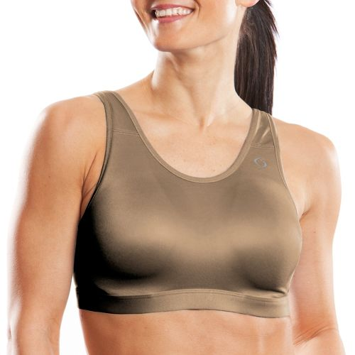 Womens Moving Comfort Maia Sports Bra - Taupe 32C