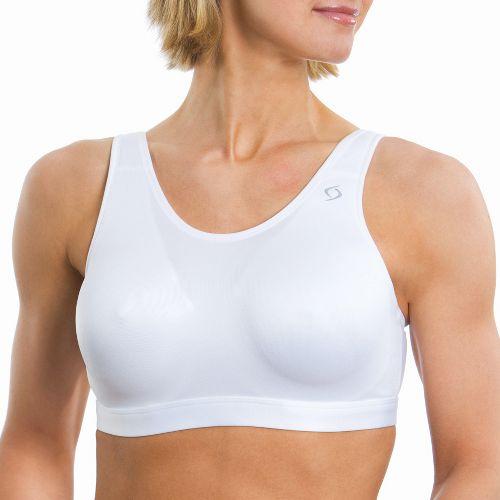 Womens Moving Comfort Maia Sports Bra - White 36DD