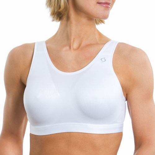 Womens Moving Comfort Maia Sports Bra - White 42D