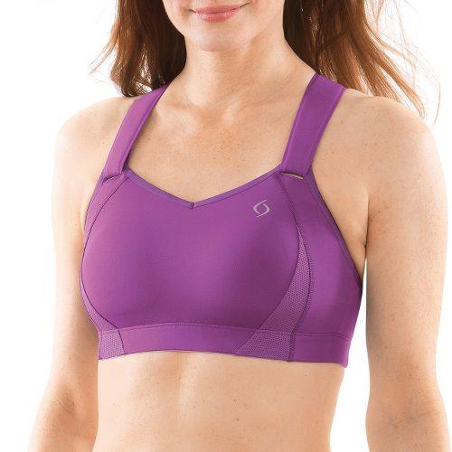 Womens Moving Comfort Juno Sports Bra - Purple 30C