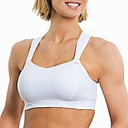 Womens Brooks Juno Sports Bra - White 40B