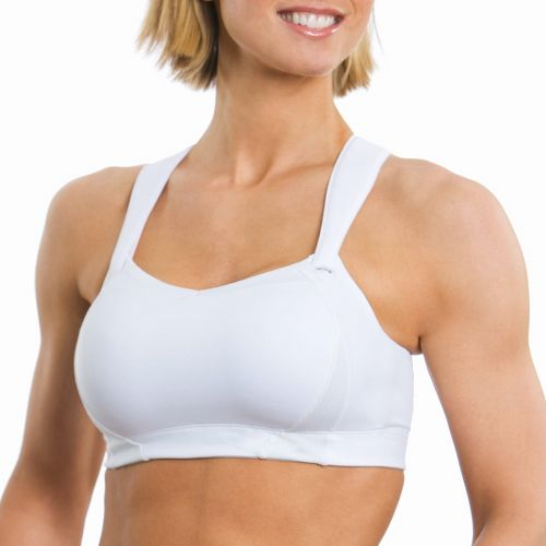 Womens Moving Comfort Juno Sports Bra - White 40DD