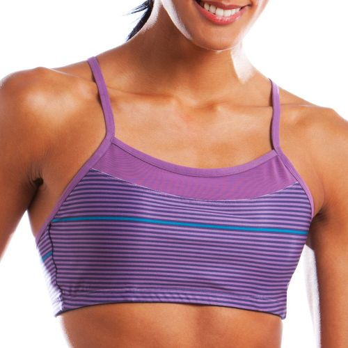 Womens Moving Comfort Alexis Printed Sports Bra - Berry XL
