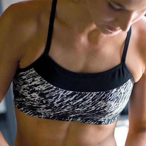 Womens Moving Comfort Alexis Printed Sports Bra - Black/Print S