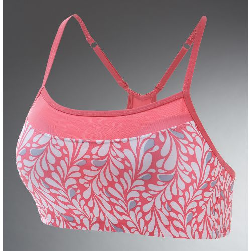 Womens Moving Comfort Alexis Printed Sports Bra - Pink Paradise S