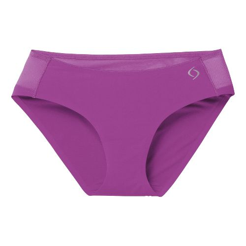 Womens Moving Comfort Workout Bikini Underwear Bottoms - Daydream M