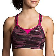 Womens Brooks Rebound Racer Sports Bra - Sunset Ikat Jacquard 32D