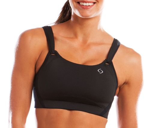Womens Brooks Jubralee Sports Bra - Black 36E