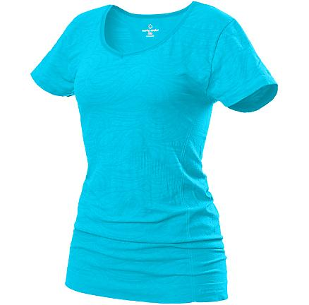 Womens Moving Comfort Form Tee Short Sleeve Technical Tops