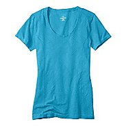 Womens Moving Comfort Flex Tee Short Sleeve Technical Tops