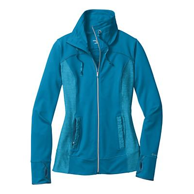 Womens Moving Comfort Foxie Full Zip Warm-Up Unhooded Jackets