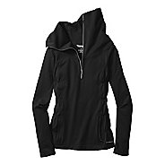 Womens Moving Comfort No Chill Long Sleeve 1/2 Zip Technical Tops