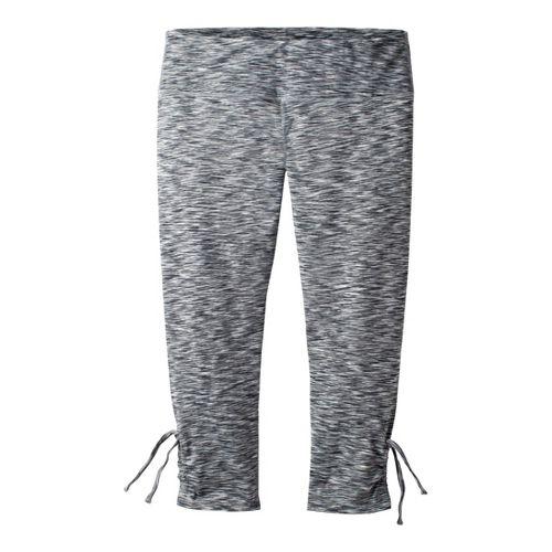 Womens Moving Comfort Urban Gym Capri Tights - Asphalt XL