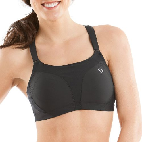 Womens Moving Comfort Endurance Racer Sports Bra - Black 38D