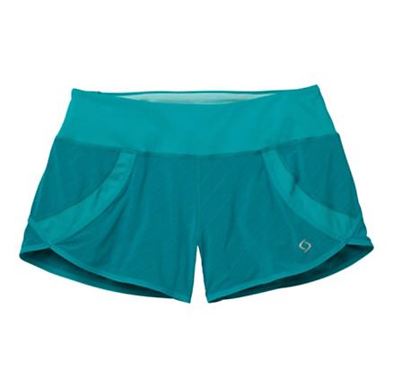 Womens Moving Comfort Momentum II Lined Shorts