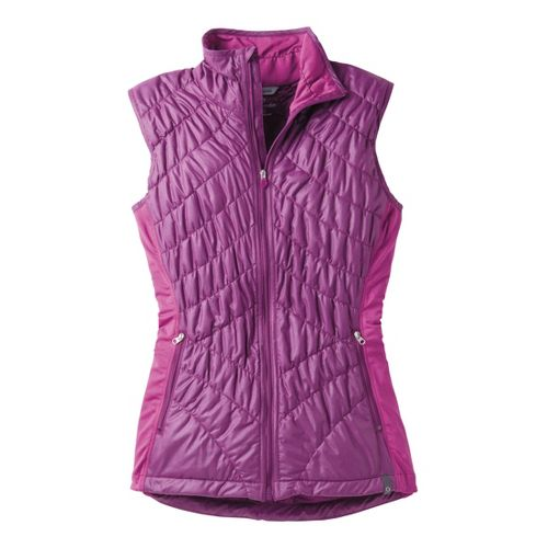 Womens Moving Comfort Sprint Insulated Running Vests - Purple Fizz M