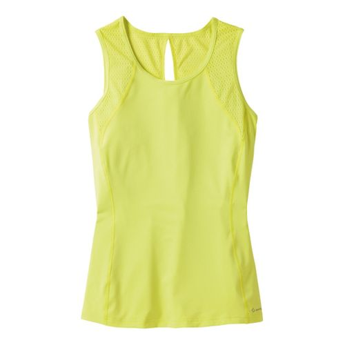 Womens Moving Comfort Dash Sleeveless (Plus Sizes) Technical Tops - Flash 1X