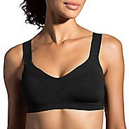 Womens Brooks Hot Shot Sports Bra - Black S