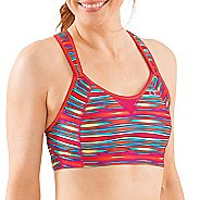 Womens Moving Comfort Rebound Racer Rainbow Sports Bra