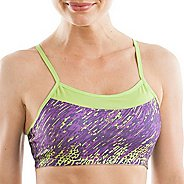 Womens Moving Comfort Alexis Printed Sports Bra