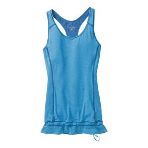 Womens Moving Comfort Endurance Tanks Technical Tops - Cosmic Heather S