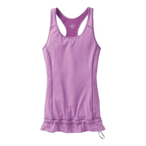 Womens Moving Comfort Endurance Tanks Technical Tops - Daydream Heather XL