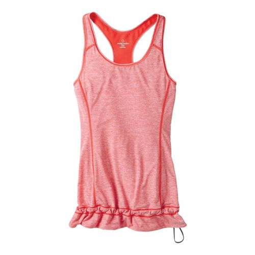 Womens Moving Comfort Endurance Tanks Technical Tops - Flame Heather XL