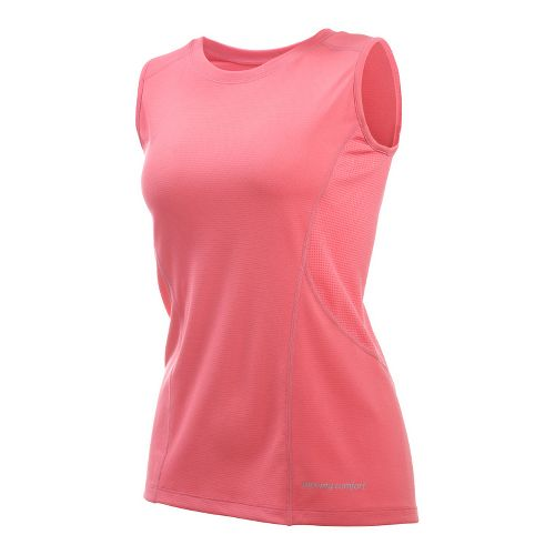Womens Moving Comfort Endurance Tanks Technical Tops - Guava 2X