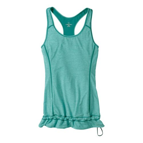 Womens Moving Comfort Endurance Tanks Technical Tops - Luxe Heather L
