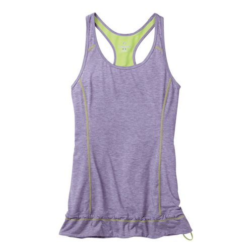 Womens Moving Comfort Endurance Tanks Technical Tops - Twilight Heather 1X
