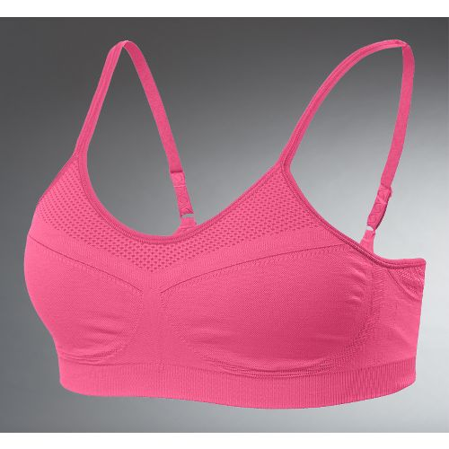 Womens Moving Comfort Aurora A/B Inner Bras - Flamingo L