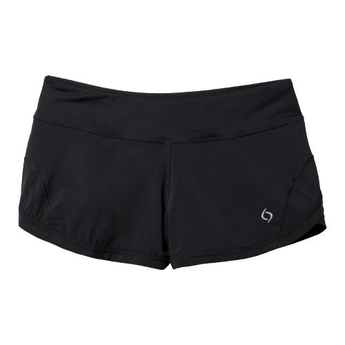 Womens Moving Comfort Momentum Lined Shorts - Black S