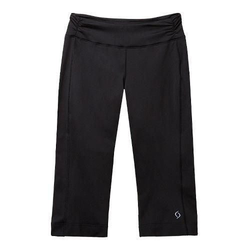 Womens Moving Comfort Fearless Capri Pants - Black 1X