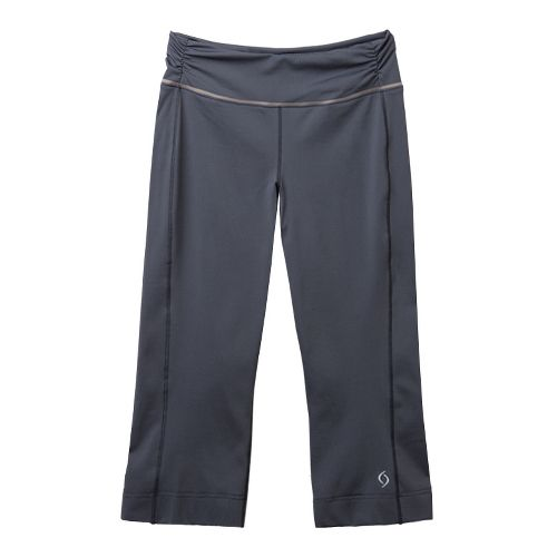 Womens Moving Comfort Fearless Capri Pants - Ebony M
