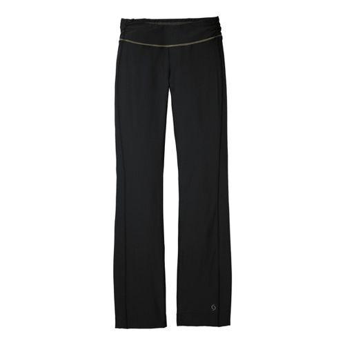 Womens Moving Comfort Fearless Full Length Pants - Black XL