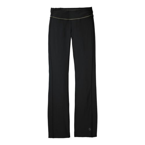 Womens Moving Comfort Fearless Full Length Pants - Black XLT