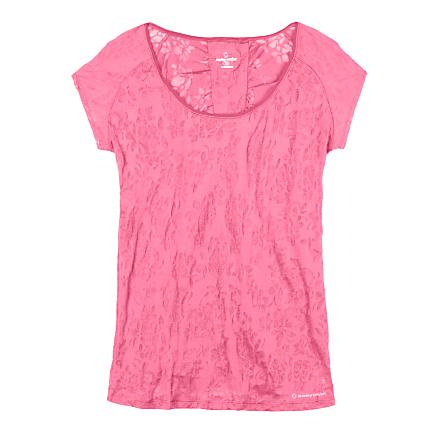 Womens Moving Comfort Lucky Tee Short Sleeve Technical Tops