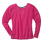 Womens Moving Comfort Urban Gym Long Sleeve Long Sleeve No Zip Technical Tops