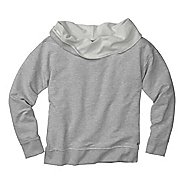 Womens Moving Comfort Urban Gym Sweatshirt Long Sleeve No Zip Technical Tops
