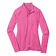 Womens Moving Comfort Flex 1/2 Zip Long Sleeve 1/2 Zip Technical Tops