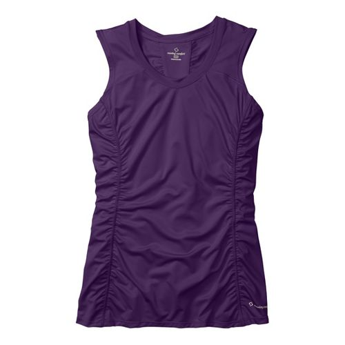 Womens Moving Comfort Sprint Sleeveless Technical Tops - Berry 2X