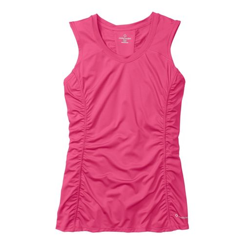 Womens Moving Comfort Sprint Sleeveless Technical Tops - Shimmer S