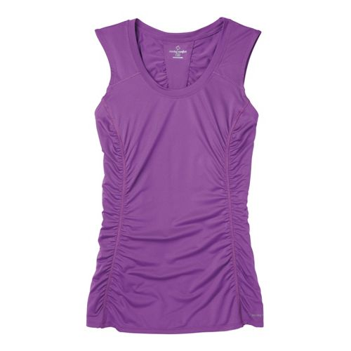 Womens Moving Comfort Sprint Sleeveless Technical Tops - Violet M