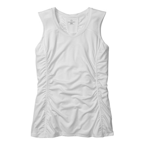 Womens Moving Comfort Sprint Sleeveless Technical Tops - White L