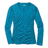 Womens Moving Comfort Sprint Long Sleeve Long Sleeve No Zip Technical Tops
