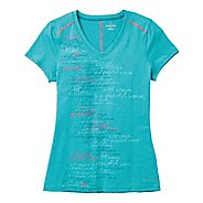 Womens Moving Comfort Performance Tee Short Sleeve Technical Tops