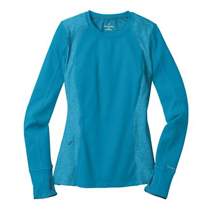 Womens Moving Comfort Foxie Long Sleeve Long Sleeve No Zip Technical Tops