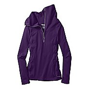 Womens Moving Comfort NoChill Long Sleeve 1/2 Zip Technical Tops